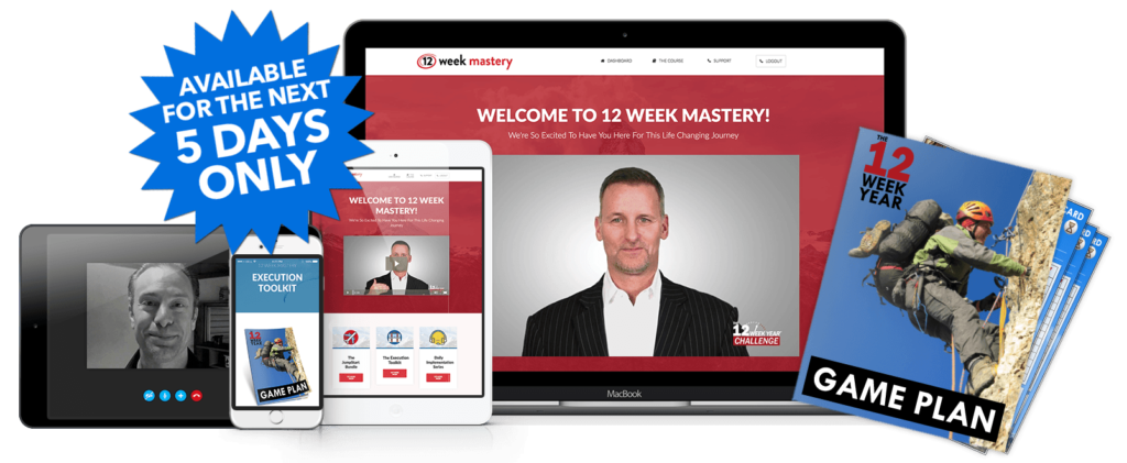 12 Week Mastery Re-Enrollment